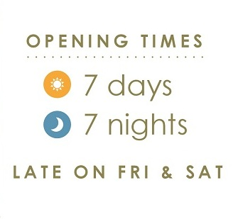 The terrace dinn r for Terraces opening times