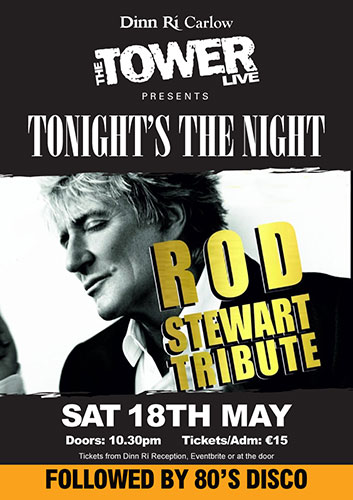 Rod Stewart Tribute at The Tower Carlow